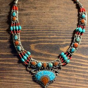 Alchemy63 Handmade Precious Stone Necklace